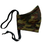 Ortho Active Cloth Mask 2-Ply Small Size (for Kids) - 1-Pack - Green Camo | 623417954928