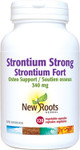 New Roots Herbal Strontium Strong Osteo Support 340mg 120 Vegetable Capsules | 628747124478