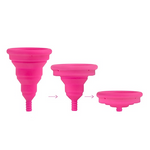 Intimina Lily Cup Compact Collapsible Menstrual Cup Size B | 7350075020117