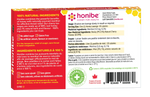 Honibe Honey Lozenges Soothes Cough, Sore Throat & Congestion - Cherry 10 Lozenges
