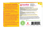 Honibe Honey Lozenges Soothes Cough, Sore Throat & Congestion - Lemon 10 Lozenges
