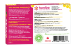 Honibe Honey Lozenges Soothes Cough, Sore Throat & Congestion - Pure Honey 10 Lozenges