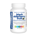 Prairie Naturals Black Elder Berry Fruit 500mg 15:1 Extract 120 V-Capsules | 067953006893