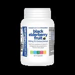Prairie Naturals Black Elder Berry Fruit 500mg 15:1 Extract 60 V-Capsules | 067953006886