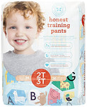 The Honest Company Honest Training Pants - Animal ABCs Size 2T-3T (26 Count) | 817810029349