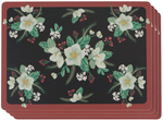 Now Designs Winterblossom Cork-Backed Placemats Set of 4   064180295700
