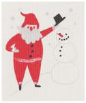 Now Designs Must Be Santa Swedish Dishcloth   064180276464