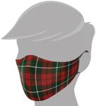 Brave Face Holiday Organic Reusable Adult Face Masks - Tartan | 705333599213