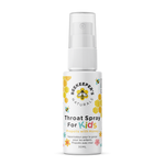 Beekeeper's Naturals Throat Spray for Kids - Propolis with with Honey 30mL | 628055142188