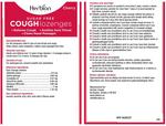 Herbion Sugar-Free Cough Lozenges Pouch - Cherry 25 Lozenges