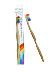 The Future Is Bamboo Adult Soft Bamboo Toothbrush - Rainbow | 687672000301
