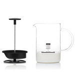 Bodum Latteo Milk Frother with Glass Handle - 0.25L, 8oz