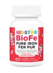 KidStar Nutrients BioFe Pure Iron Chewables - Sweet Blast 60 Chewable Tablets   371316000023