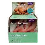 Relaxus Herbal Foot Pads 14 Patches + Adhesive Sheets - Detox|  Box Image