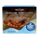 Relaxus Himalayan Salt & Herbal Foot Pads 14 Patches + Adhesive Sheets   628949040866