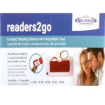 Relaxus Readers2Go Compact Reading Glasses (Assorted Colors)    Box Image of Product   REL-534164