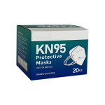 Relaxus KN95 Protective Masks - 20 Pack | Box Image | REL-150001