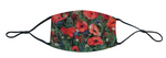 loveJack Anita Cole Face Mask - A Sea of Poppies