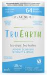 Tru Earth Platinum Eco-Strips Laundry Detergent - Fresh Linen 64 Loads   899962000643
