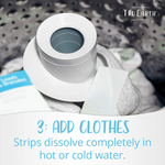 Tru Earth Platinum Eco-Strips Laundry Detergent - Fresh Linen