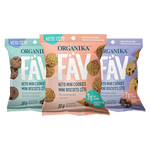 Organika FAV Keto Mini Cookies - Assorted Flavours