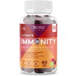 SUKU Vitamins Ultimate Immunity 60 Gummies | 628176472249