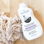 Attitude Nature + Floor and Surface Cleaner Disinfectant 99.99%  - Lavender & Thyme 1.04 L   626232105124