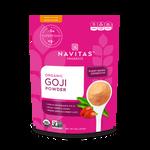 Navitas Organics Organic Goji Berry Powder 113 Grams | 858847000901