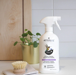 Attitude Nature+ Kitchen Cleaner Disinfectant 99.99% Spray Lavender & Thyme 800 ml | Display Image