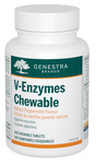 Genestra V-Enzymes Chewable Natural Peppermint Flavour 100 Chewable Tablets | 883196155910