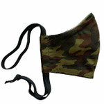 Ortho Active Reusable 3-Layer Face Mask for Adults - 2-Pack   Green Camo
