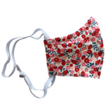 Ortho Active Reusable 3-Layer Face Mask for Adults - 2-Pack   Strawberry Flower
