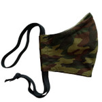 Ortho Active Reusable 3-Layer Face Mask for Kids - 2-Pack | Green Camo