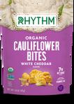 Rhythm Superfoods Organic Cauliflower Bites -White Cheddar  40g   829739100153