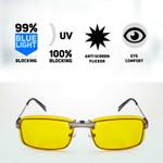 Spektrum Glasses Prospek Anti-Blue Light Clip-on Glasses - Elite   642419616375   12564315-1