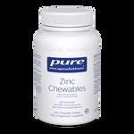 Pure Encapsulations Zinc Chewables - Natural Orange Flavour 100 Chewable Tablets   766298023489