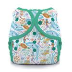 Thirsties Duo Wrap Snap Diaper - Mermaid Lagoon | 840015711313, 840015711320, 840015711337 | TDWSMerLa1, TDWSMerLa2, TDWSMerLa3