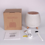 Lasting Naturals Wood Aromatherapy Diffuser  - White