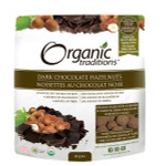 Organic Traditions Dark Chocolate Hazelnuts 227g | 627733007016
