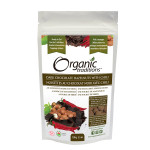 Organic Traditions Dark Chocolate Covered Hazelnuts with Chili 100g | 627733014502