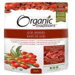 Organic Traditions Goji Berries 227g   627733002509