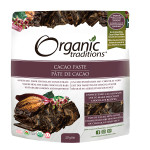 Organic Traditions Cacao Paste 227g   627733002035