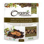 Organic Traditions Dark Chocolate Covered Almonds 227g|