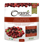 Organic Traditions Dried Cranberries 113g | 627733009942