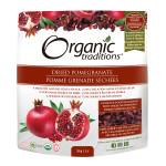 Organic Traditions Dried Pomegranates 100g   627733004251
