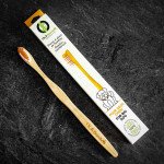 OLA Bamboo Pet Toothbrush - For Big Dogs   628110814388