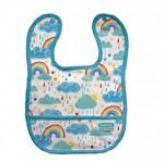 Thirsties Pocket Bib - Rainbow | 840015713713