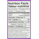 Jelly Belly Organic Fruit Flavored Snacks    Nutrition Facts