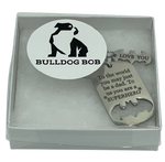 Father's Day Special! Bulldog Bob Superhero Dad Keychain with Gift Box