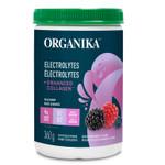 Organika Electrolytes + Enhanced Collagen - Wild Berry 360g | 620365031039